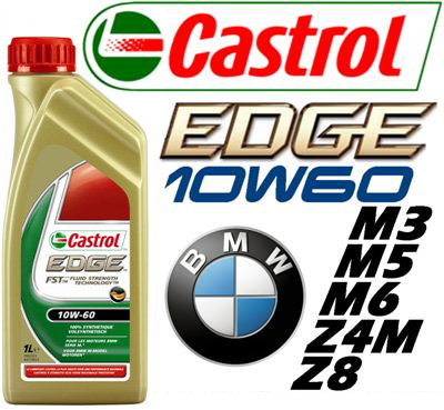 huile castrol edge sae 10w60 fst special bmw m3 m5 m6 z4m. Black Bedroom Furniture Sets. Home Design Ideas
