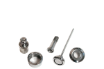 BOUTONS CERCLAGES CHROME