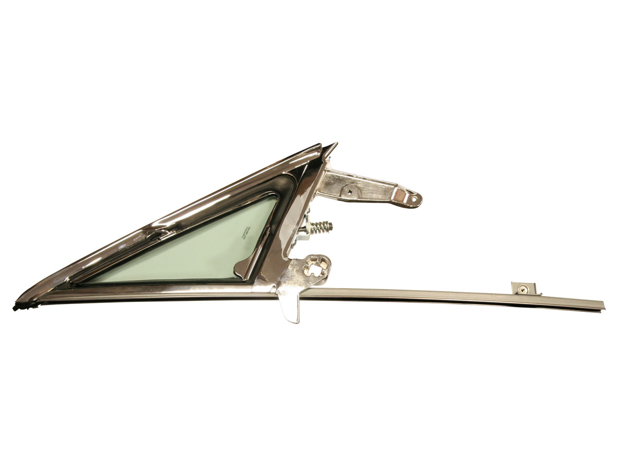 FORD MUSTANG 1964-1966 vent window frame and glass assembly right hand tinted SCOTT DRAKE C5ZZ-65222404TK